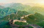 China Beijing-2008 Summer Olympics at The Great Wall of China