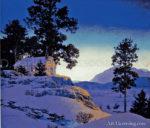 Evening Winterscape