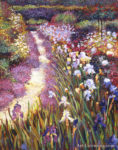 Iris Garden Path