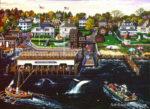 Massachusetts-Edgartown Wharf