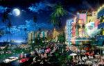 Miami-Moon Light South Beach