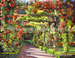 PARIS ROSE ARBOR