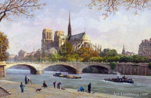 Paris-Notre Dame Banks