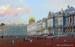 Russia-St. Petersburg-Summer-Palace