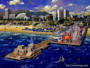Southern California-Santa Monica Pier