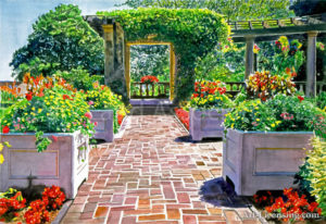 The Beautiful Italian Garden