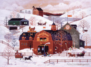 Sunny Farm Winter