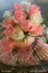 00055-Pink and White Roses-Pearls