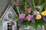 00108-Rose Flower arrangement-Doll House