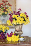 Yellow and Red Mums Bouquets