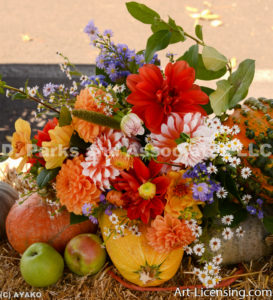 0474-Dahlia Bouquet