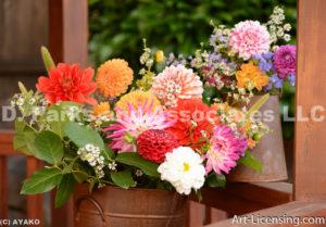0775-Dahlia Bouquet
