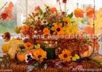 1098-Autumn Flower Arrangement
