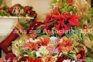 2104-Christmas Flower arrangement