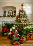 2137-Christmas decoration room and Santa