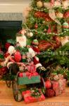 2140-Christmas decoration and Santa