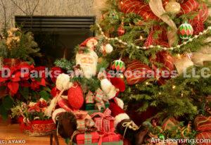 2149-Christmas decoration and Santa