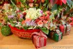 2223-Christmas Basket and Presents