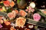 3417-Classic Roses on the Tray