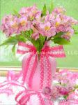 4122-Pink Alstroemeria