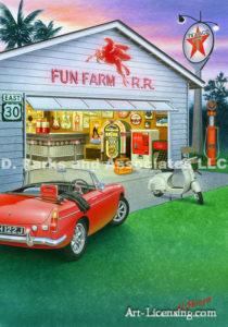 50's Style Garage