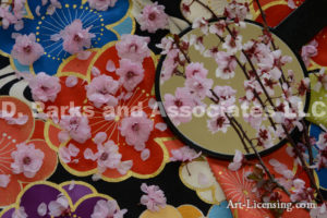5540-Cherry Blossoms on the Kimono