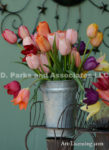 6848-Tulips Bouquet