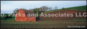Barn Landscape 2