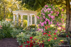 Rose Garden with Gazebo
