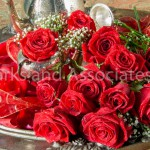 Red Roses with Tea