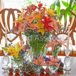 Spring Lily Arrangements