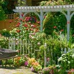 Scenic Spring Garden