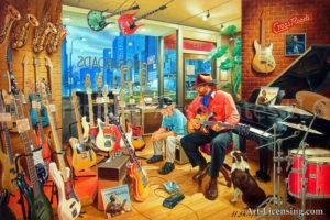 Cross Roads Music Shop