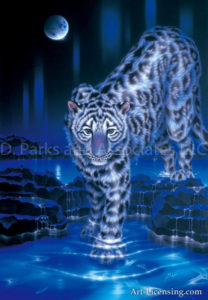 Leopard - Snow Leopard