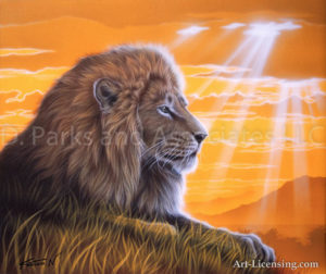 Lion - The King of Savanna
