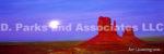Purple Monument Valley