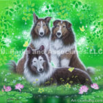 Sheltie Dogs-Peppy Bill and Bebe