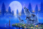 Wolf-Song of Family-Spring-by Kentaro Nishino
