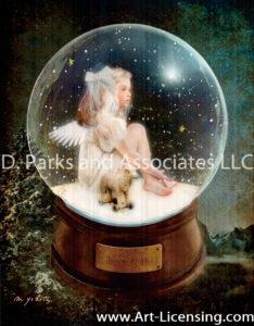Snow Ball Angel