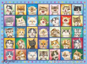 CatsCatsCats Blue Frame