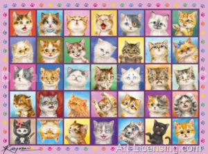 CatsCatsCats Pink Frame