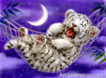 Hammock White Tiger Cub