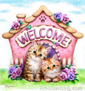 Welcome To Our House Kittens