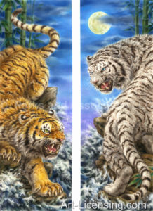 Yellow Tiger Vs WhiteTiger