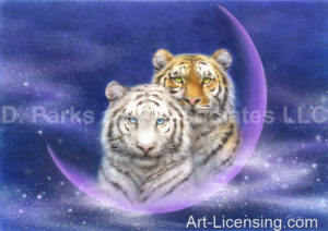 Yellow and White Tiger-Milkyway