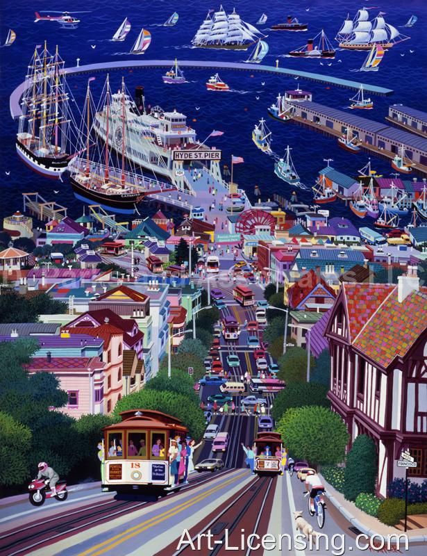 Alexander Chen-San Francisco Hide Street Pier