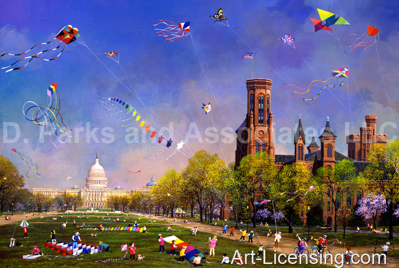 Alexander Chen-Washington DC-National Kite Day