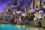 Amalfi Splendor-Night