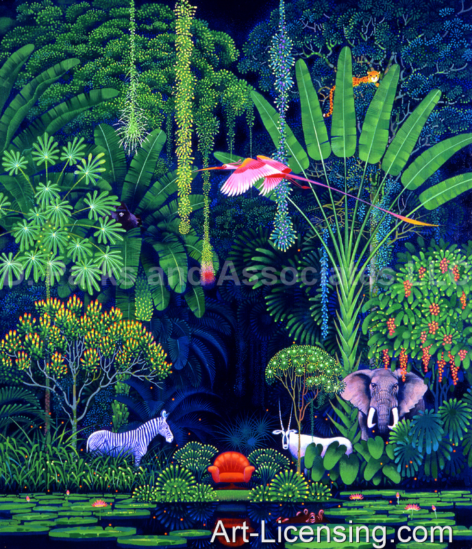 Hiroo Isono-006-Jungle Animals