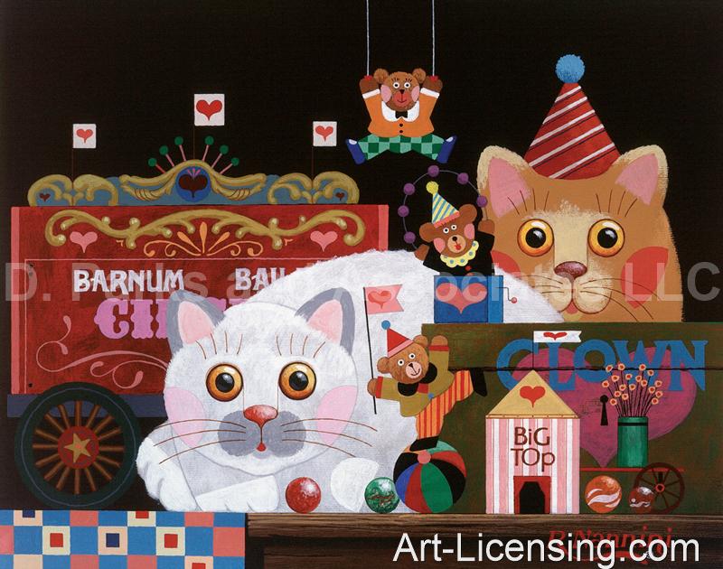 Roger Nannini-Cats Barnum